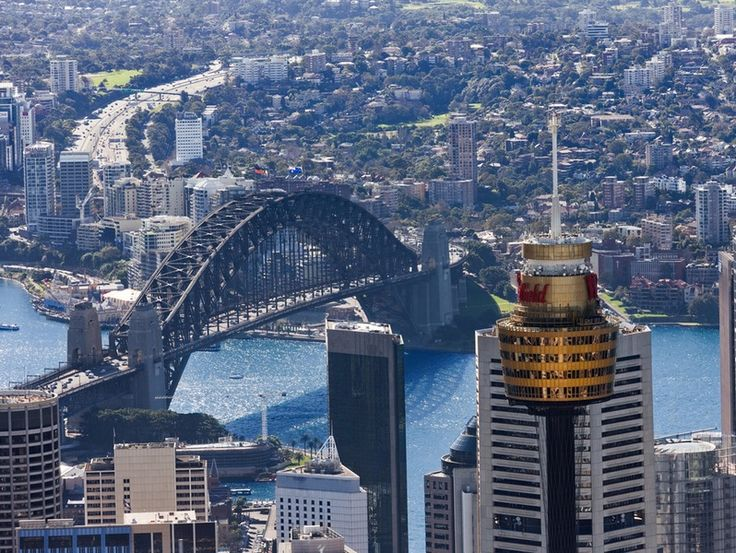 Sydney Tower Eye : Sydney Tower – For $18 go up to the top of Sydney Tower, the city's tallest free-standing structure at 309 m (1,014 ft) above the CBD. It has an observation deck with awesome views of the skyline.