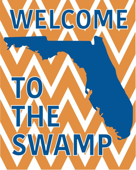 """""""Welcome to the Swamp"""" 8x10 printable available on Easy"""