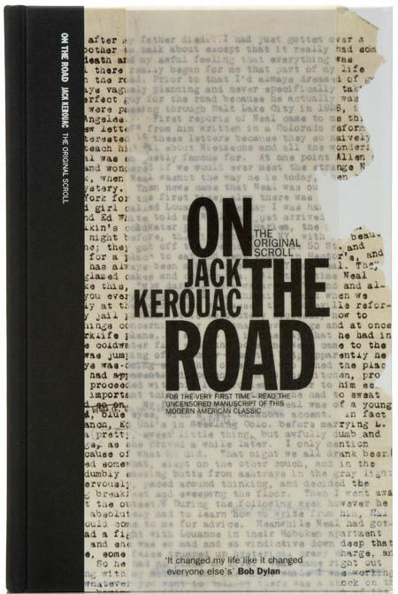 On the Road: book cover: designed by Angus Hyland