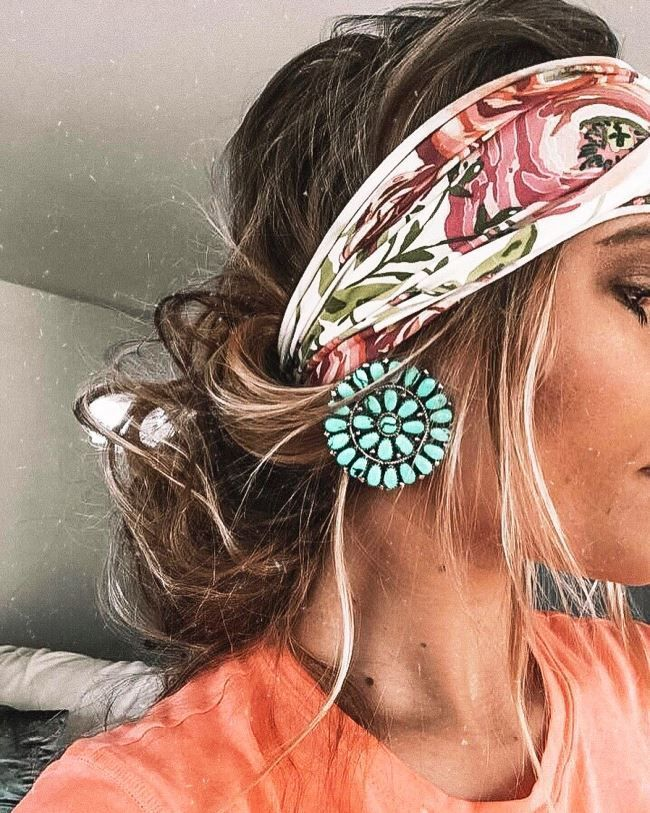 Hippie Hairstyles With Headbands Hair Hairstyles Headbands Hippie Home Summer Hair Styles With Headbands In 2020 Headband Hairstyles Hippie Hair Hair Styles