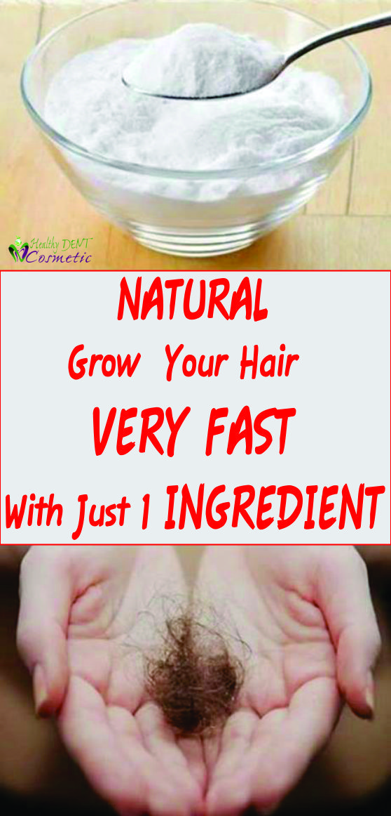 Natural Way to Grow Your Hair Very Fast With Just 1 Ingredient