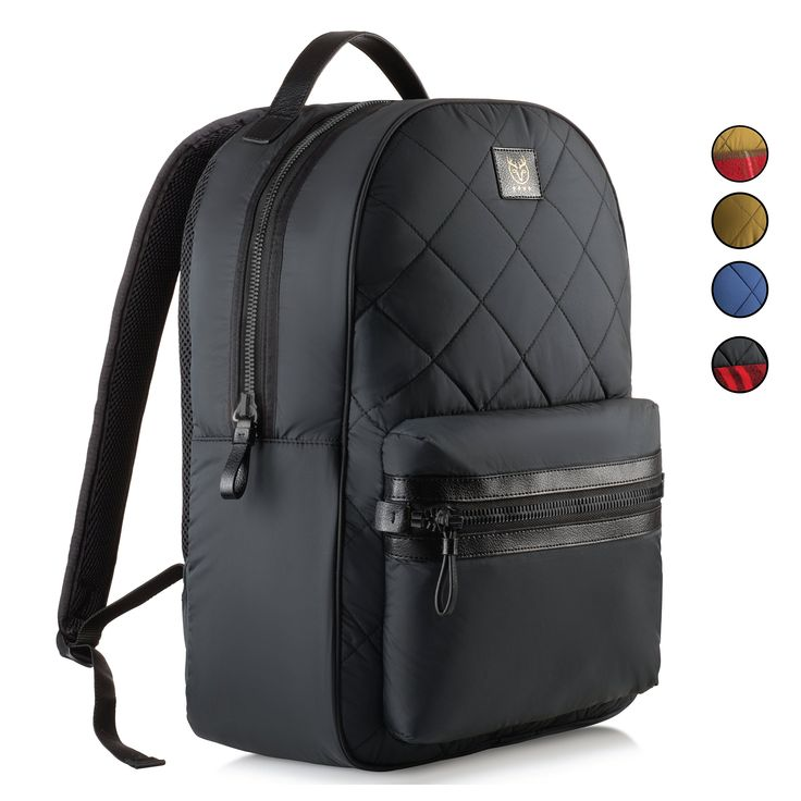Laptop Backpack, for Men, Women. Stylish School and College Backpack for Girls and Boys. (Black)
