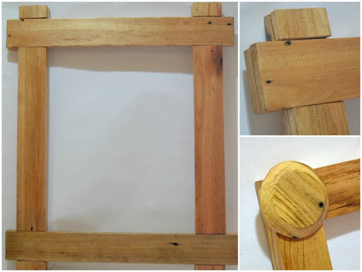 painted palletframe recyclingwoodpallets distressed oak picture frames from recycled pallet wood
