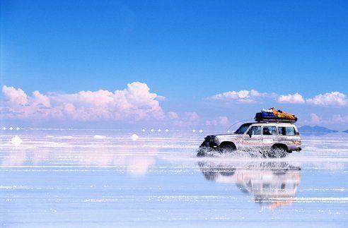 .o. Bolivia's Salar de Uyuni