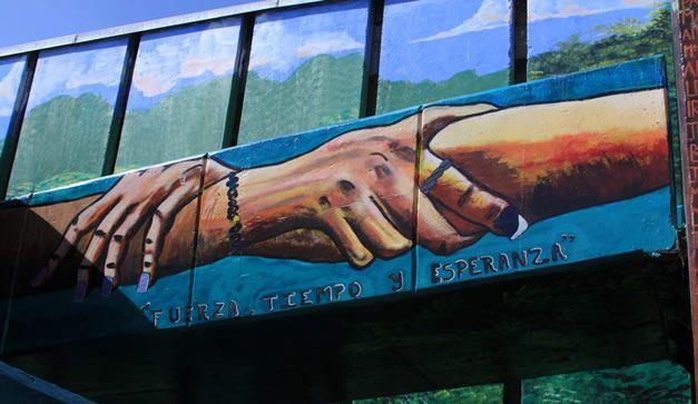 Mural en Santa Martha