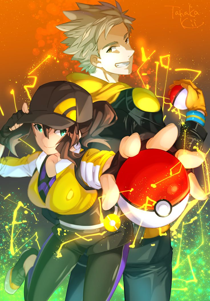 Pokemon Go - Female Protagonist and Spark