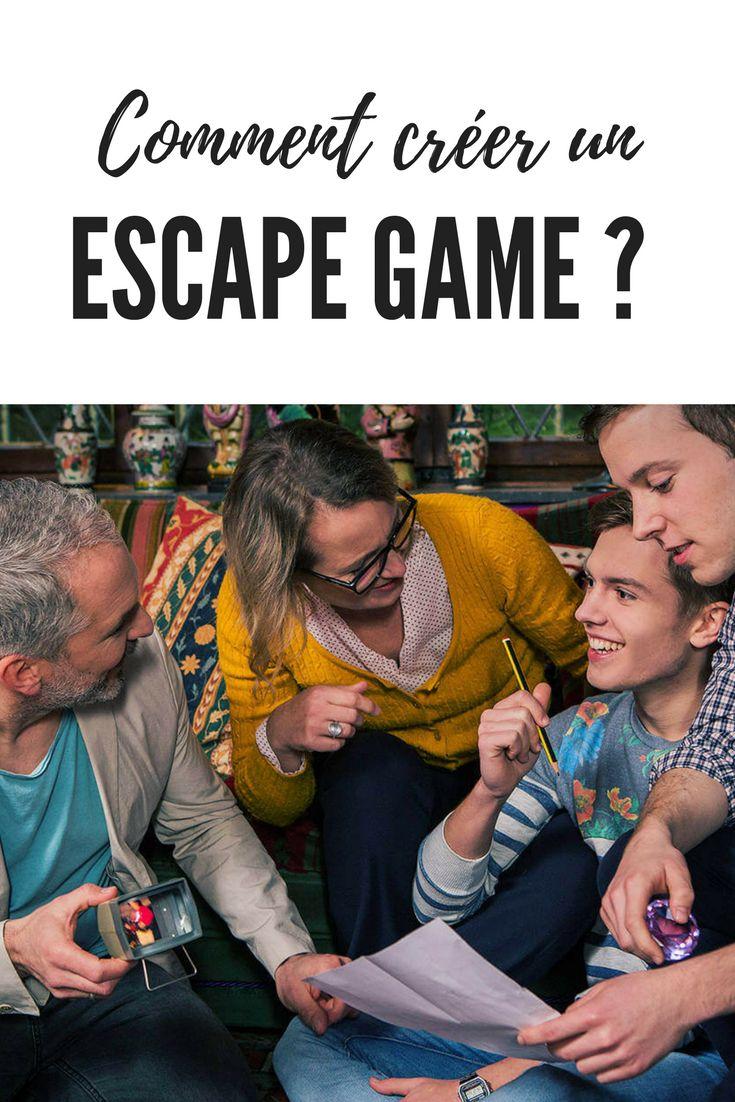 Comment créer un Escape Game à la maison ? Toutes les étapes pour concevoir votre Escape Game en famille ou entre amis !