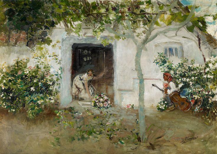 Ignacio Pinazo Camarlench. Los Mayos, c. 1898-1899. Colección Carmen Thyssen-Bornemisza en préstamo gratuito al Museo Carmen Thyssen Málaga