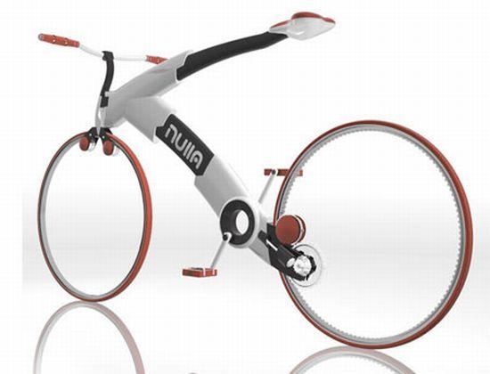 Chain-less Nulla Bike Concept is a future fashion icon