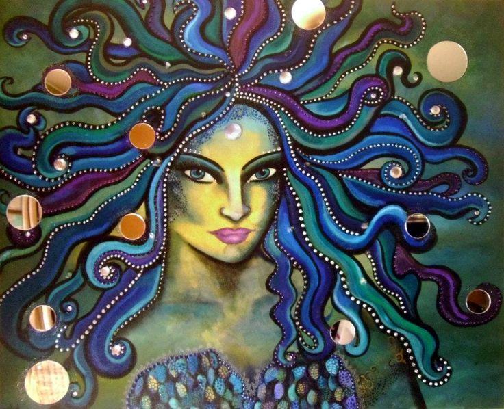 Akasha Goddess of the Sea - Mara Diop