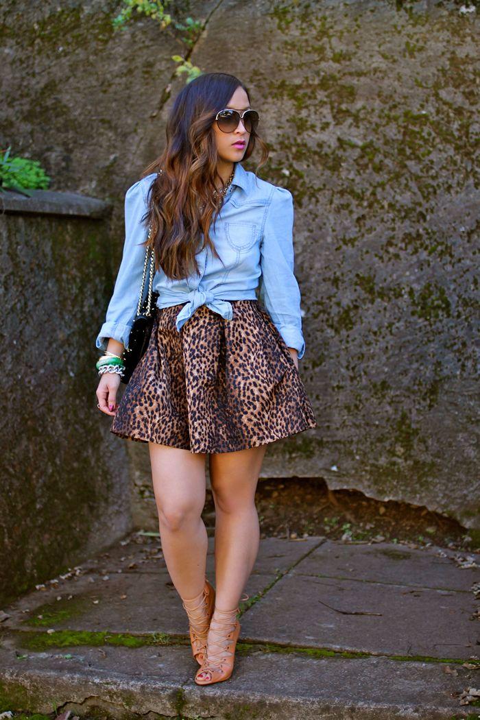 a6eff3cb23 17 Best ideas about Leopard Skirt on Pinterest