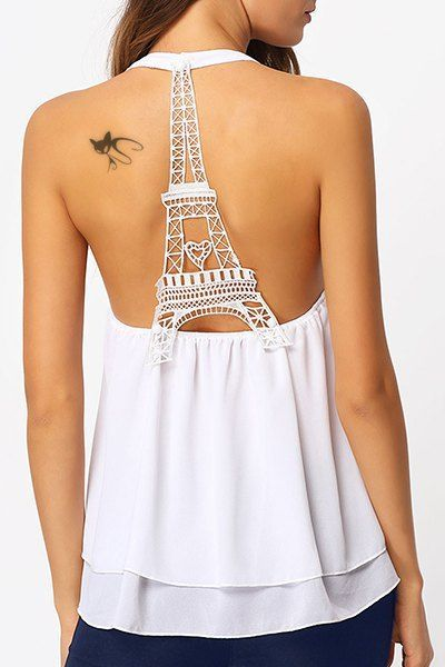 eiffel tower back