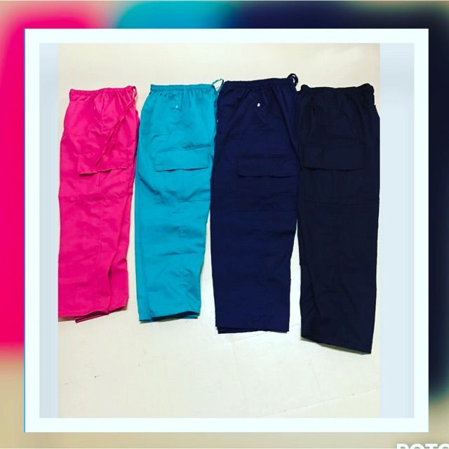 I'm selling Mens and ladies cargo pants for ₱250.00. Get it on Shopee now!https://shopee.ph/crissellescrubsuit/240418784 #ShopeePH