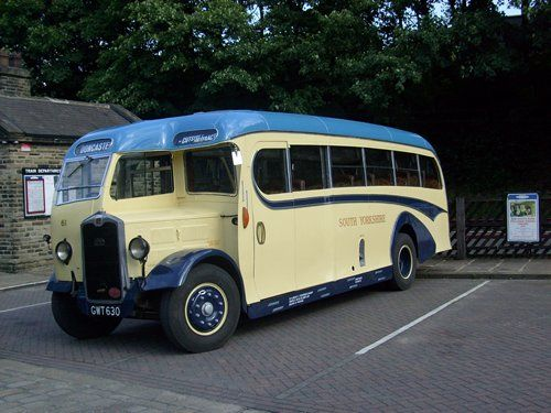 Our 1947Albion vintage coach with a 33 seatBurlingham of Blackpool body. This vehicle hasjust received a full exterior rebuild together w...
