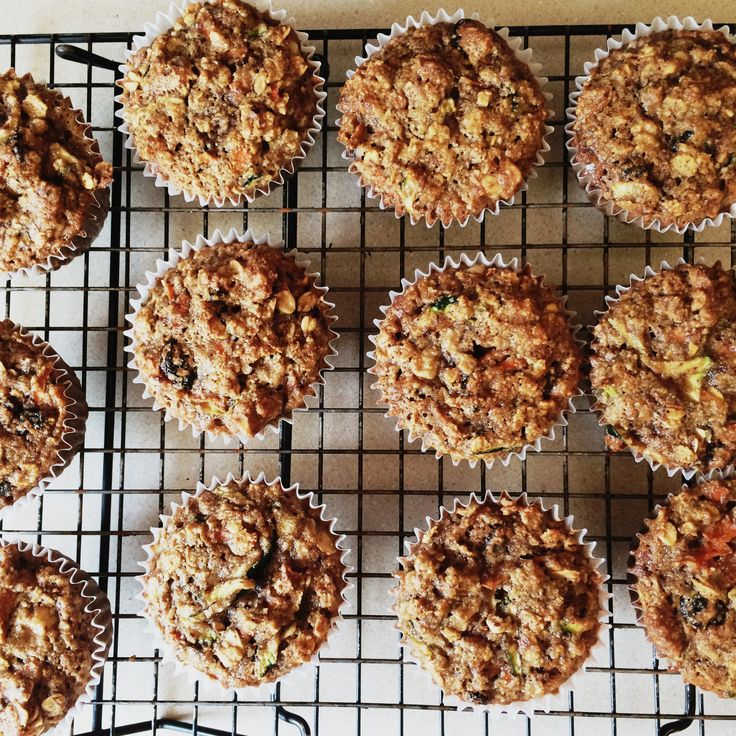 Superhero muffins from Run Fast Eat Slow. Fuel for the body,  and are gluten free!