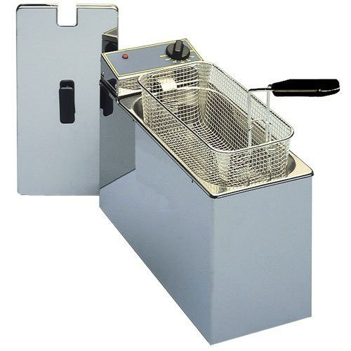 Equipex Small Fry Countertop Electric Fryer, 7 x 15 1/2 x 11 inch -- 1 each.