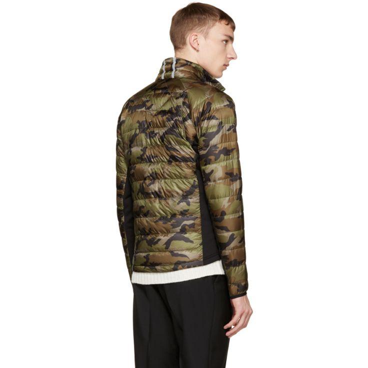 canada goose green camo hybridge light jacket