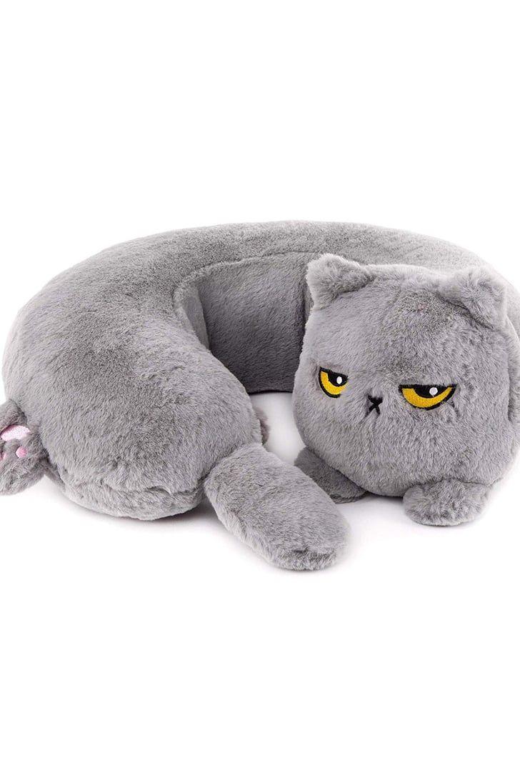 Grumpy Cat Heated Neck Pillow