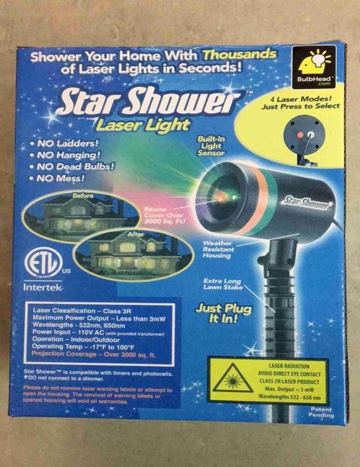 NEW!! STAR SHOWER LASER LIGHTS-BLUE & RED-4TH OF JULY, MEMORIAL & PRESIDENTS DAY #SoldbyKidsnpuppiesIntl