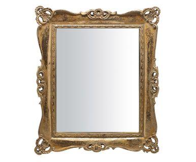 """Nástěnné zrcadlo """"Terry Gold"""", 28 x 3 x 33 cm"""