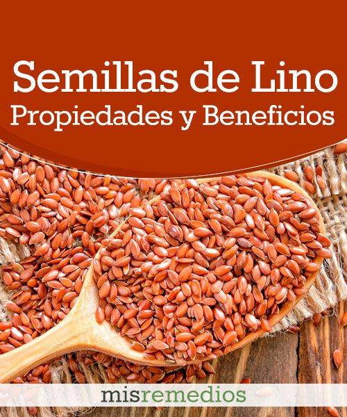 #Semillas de lino - Propiedades y Beneficios #PlantasMedicinales