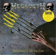45cat - Megadeth - Symphony Of Destruction / Peace Sells (Live) - Capitol - UK - CLS 662