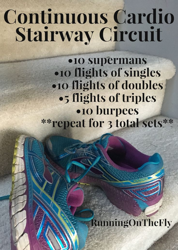 Supermans & stairs & burpees, oh my!