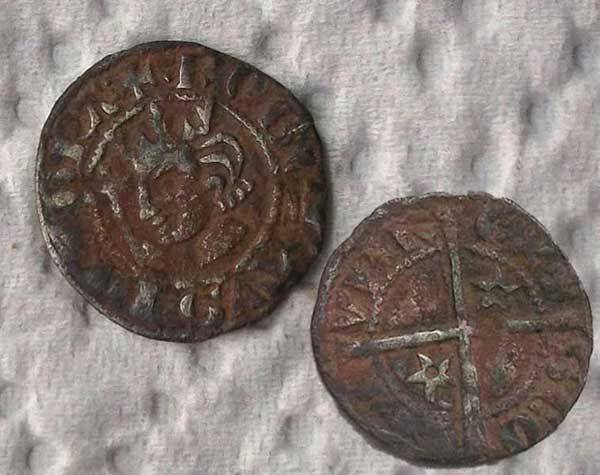 Robert the Bruce Half penny