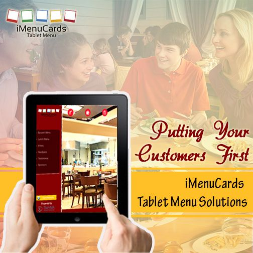 Special Tablet Solutions for Restaurants! Know More about Our Tablet Menu Solutions: http://www.imenucards.in/ #iMenuCards #DigitalMenu