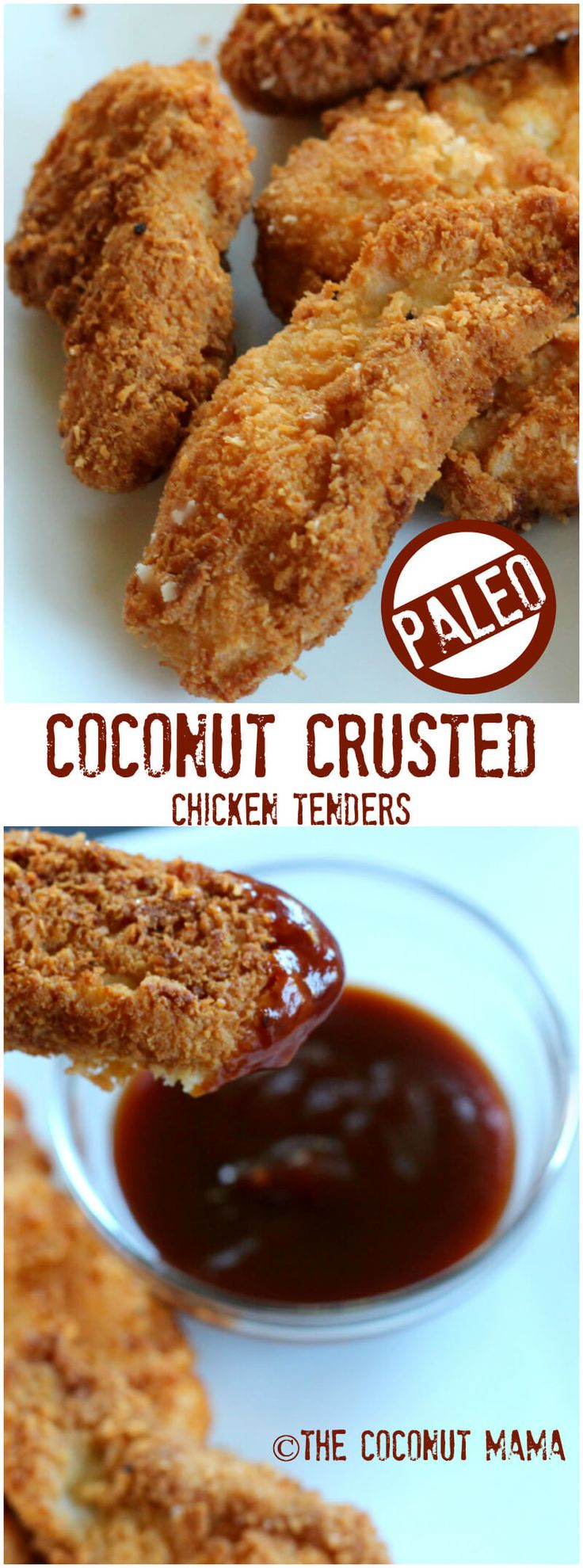Coconut Chicken Tenders – The Coconut Mama