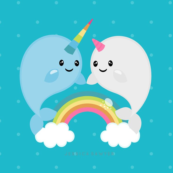 The 25 best kawaii narwhal ideas on pinterest cute - Cute narwhal wallpaper ...