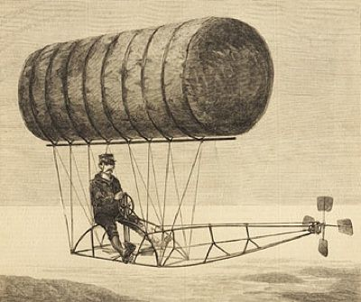 Top 10 Quirkiest Early Flying Machines | Aviation, Airship, Zeppelin balloon