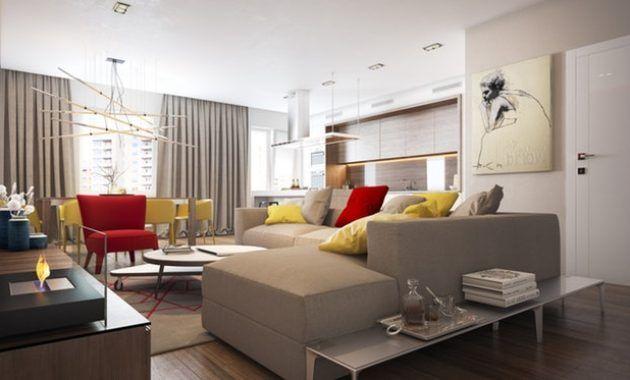 Beautiful Deco Salon Jaune Gris Blanc Photos - Matkin.info ...