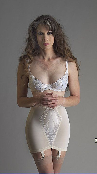 Sexy women wearing girdles