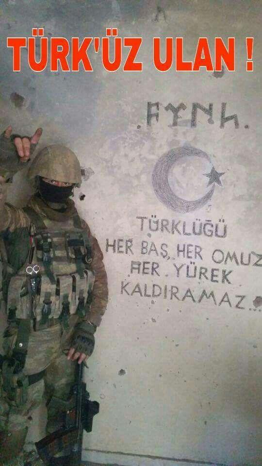 Türküz ulan...