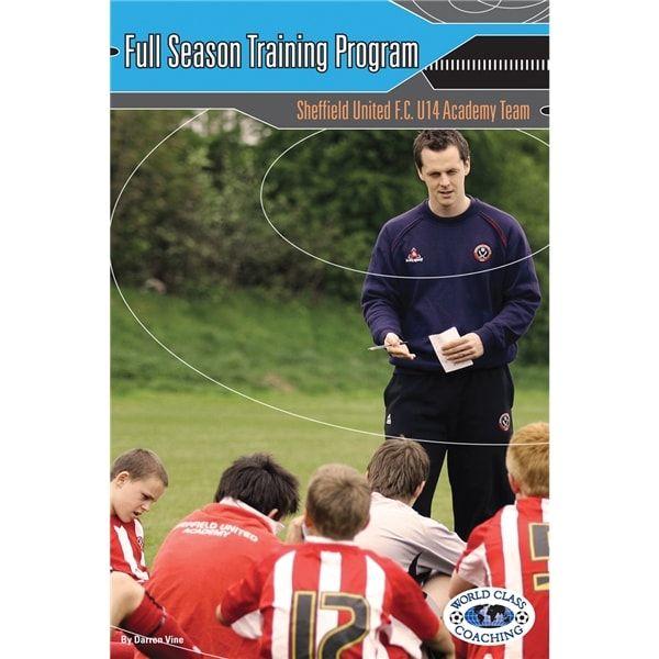 Full Season Training Program Sheffield United FC Book