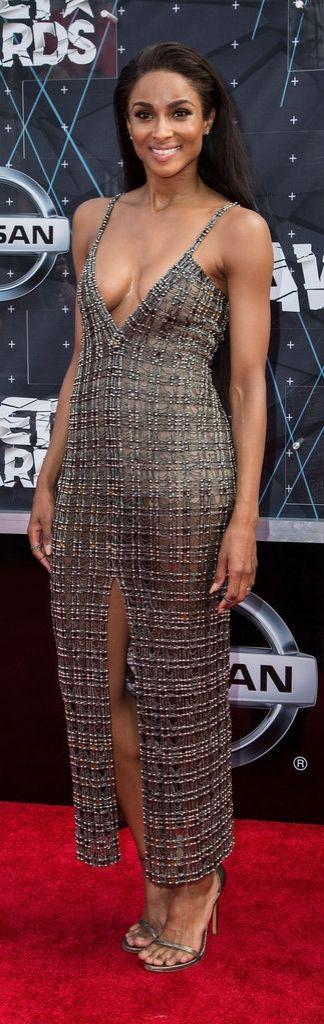 Ciara at the 2015 BET Awards