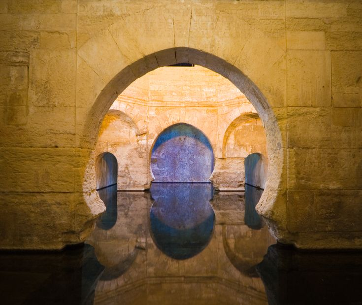 ooooo - so want to GO!!!  Subterranean Spa  An underground thermal bath in Alhama de Granada.