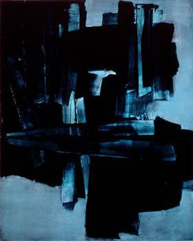 Pierre Soulages. The first time I saw a painting of his at LACMA I was amazed. I sat in front of it forever.