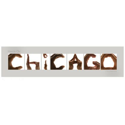 22 best chicagos l train images on pinterest train trains hands onicago poster in gray sciox Image collections