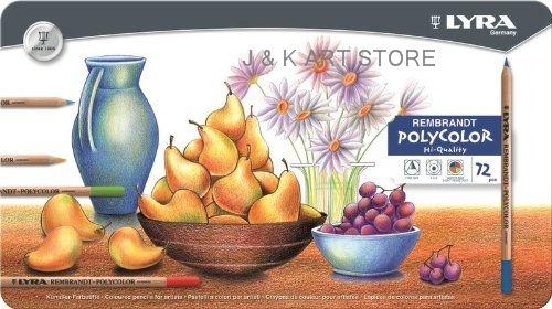Aliexpress.com: Comprar 72 colores de la alta calidad Lyra Rembrandt Polycolor Premium a base de aceite de lápices de colores, caja de hierro lleno conjunto de lápiz de color de conjunto carro fiable proveedores en J&k ART STORE