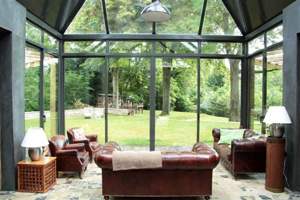 Etranger extensions modern and verandas - Extension maison verriere ...