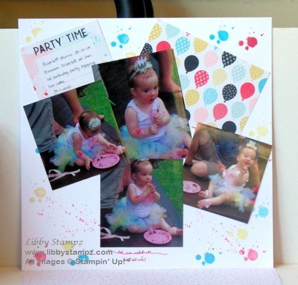 Project Life Scrapbook Page Layout
