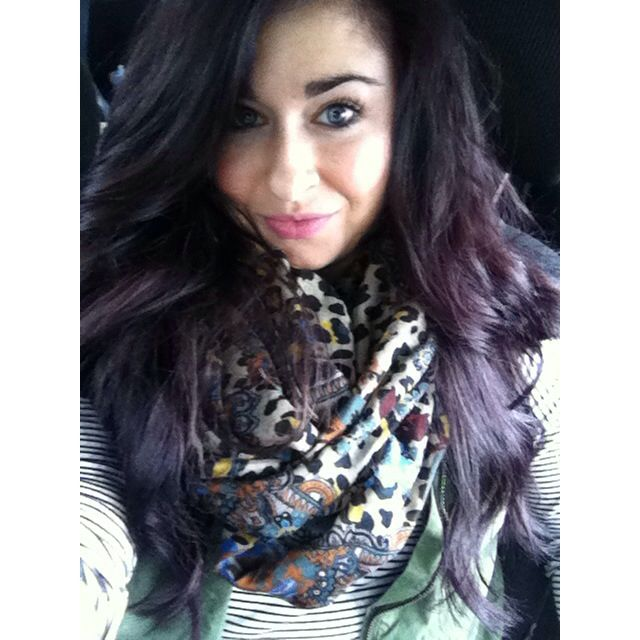 One n Only Argan Oil hair color from Sally\u002639;s 3RV Color Dark Red Violet Brown  Fashion Forward