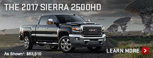 Click here to learn more about the 2017 GMC Sierra 2500HD heavy duty pickup truck.