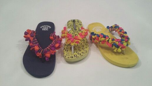 Water ballon slippers