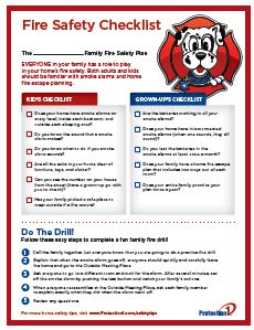 Everyone in your family has a role to play in your home's fire safety. Download our Fire Safety Checklist to make sure your family is on the same page!