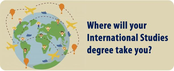 An international studies degree can take you around the world
