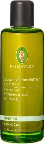 Schwarzkümmelöl bio macht die Haut geschmeidig und sorgt für einen gesunden Hautstoffwechsel. Base Oil. Seed Oil. PRIMAVERA. #primaveralife #primavera #aromatherapie