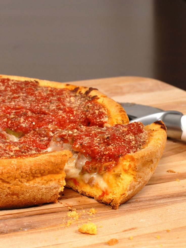 Gluten Free Chicago Deep Dish Pizza A must-try recipe. This is amazing